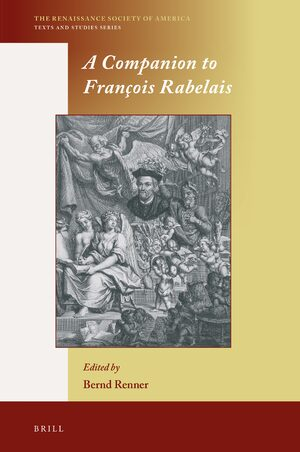 Cover A Companion to François Rabelais