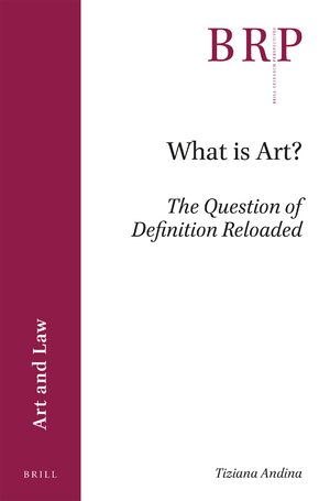 Cover What is Art?