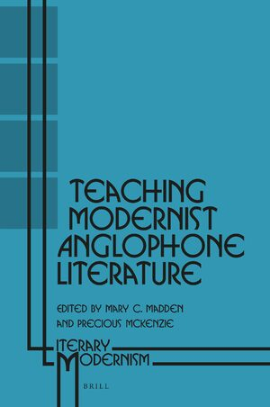 Cover Teaching Modernist Anglophone Literature