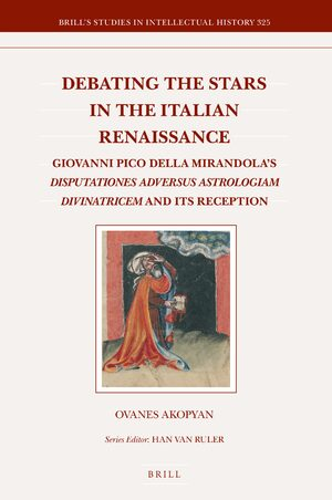 Cover Debating the Stars in the Italian Renaissance