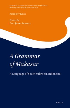 Cover A Grammar of Makasar