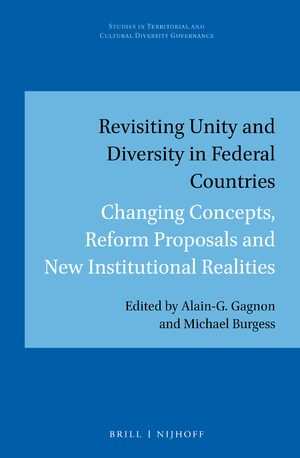 Cover Revisiting Unity and Diversity in Federal Countries