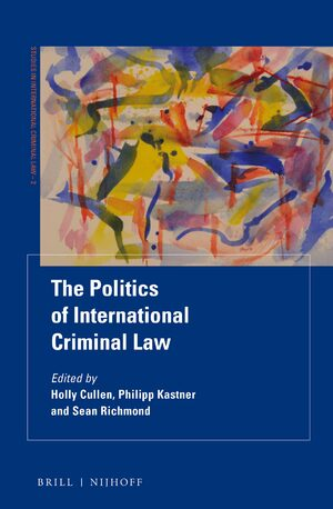 Cover The Politics of International Criminal Law