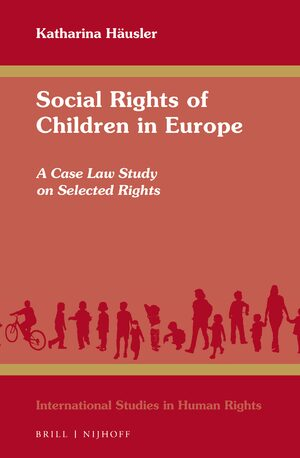 Cover Social Rights of Children in Europe