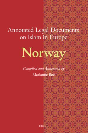 Cover Annotated Legal Documents on Islam in Europe: Norway