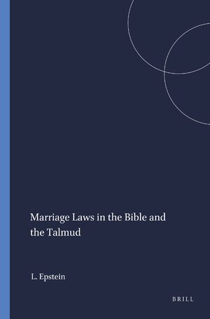 Cover Marriage Laws in the Bible and the Talmud