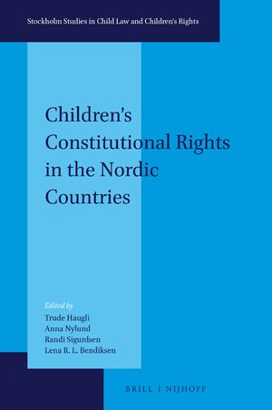 Cover Children's Constitutional Rights in the Nordic Countries