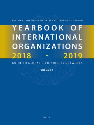 Cover Yearbook of International Organizations 2018-2019, Volume 4