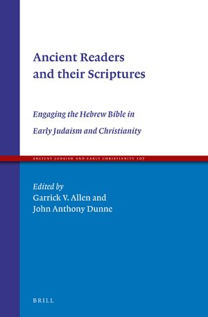 Cover Ancient Readers and their Scriptures
