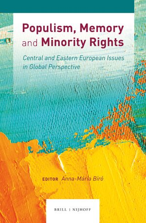 Cover Populism, Memory and Minority Rights