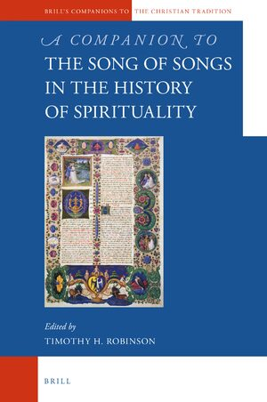 Cover A Companion to the Song of Songs in the History of Spirituality