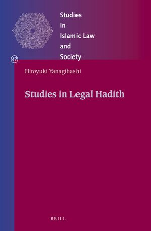 Cover Studies in Legal Hadith