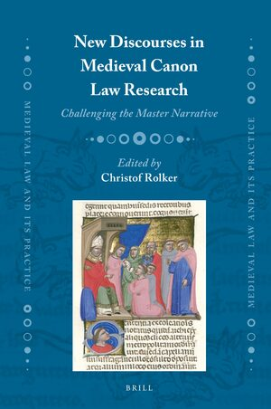 Cover New Discourses in Medieval Canon Law Research