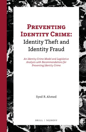 Cover Preventing Identity Crime: Identity Theft and Identity Fraud