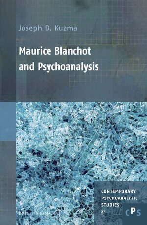 Cover Maurice Blanchot and Psychoanalysis