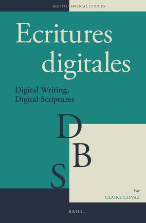 Cover Ecritures digitales