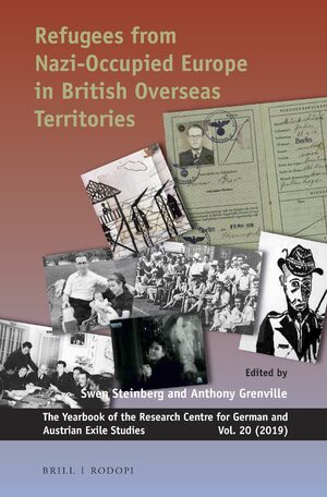 Cover Refugees from Nazi-occupied Europe in British Overseas Territories