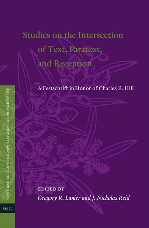 Studies on the Intersection of Text, Paratext, and Reception