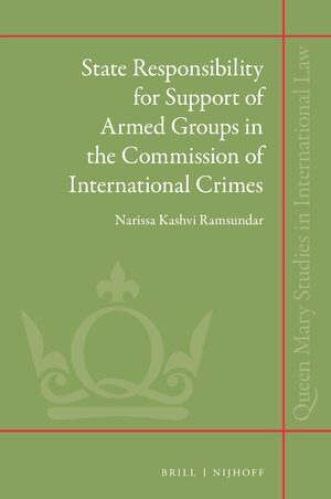Cover State Responsibility for Support of Armed Groups in the Commission of International Crimes