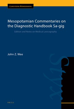 Cover Mesopotamian Commentaries on the Diagnostic Handbook Sa-gig