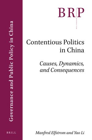 Cover Contentious Politics in China