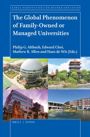 Cover The Global Phenomenon of Family-Owned or Managed Universities