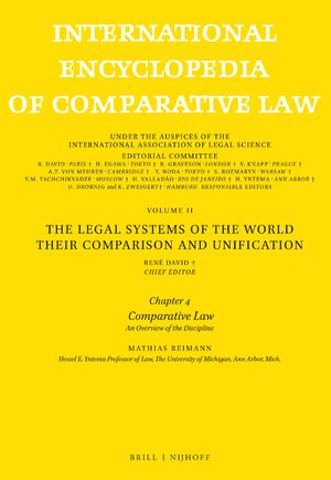 Cover International Encyclopedia of Comparative Law, Instalment 44