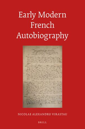 Cover Early Modern French Autobiography