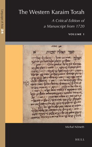 Cover The Western Karaim Torah