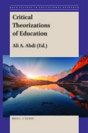 Cover Critical Theorizations of Education