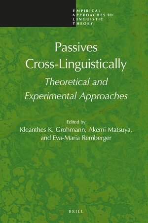 Cover Passives Cross-Linguistically