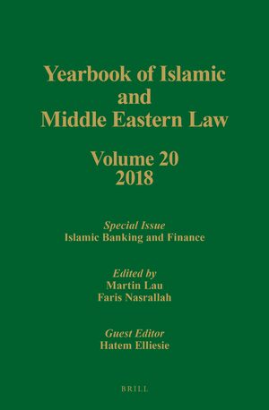 Cover Yearbook of Islamic and Middle Eastern Law, Volume 20 (2018)