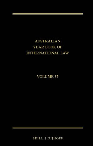 Cover The Australian Year Book of International Law