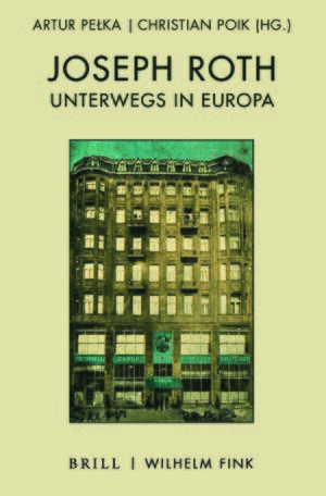 Cover Joseph Roth unterwegs in Europa