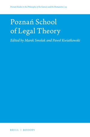 Cover Poznań School of Legal Theory