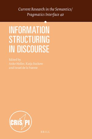 Cover Information Structuring in Discourse
