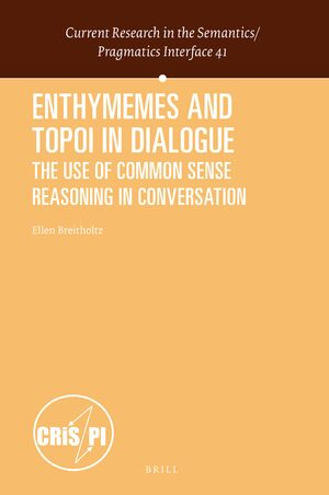 Cover Enthymemes and Topoi in Dialogue