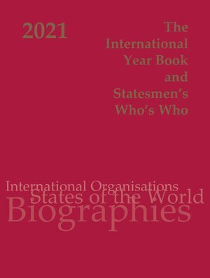 International Year Book and Statesmen's Who's Who 2021