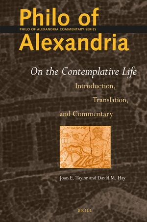 Cover Philo of Alexandria: On the Contemplative Life