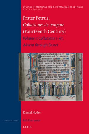Cover Frater Petrus, <i>Collationes de tempore</i> (Fourteenth Century)
