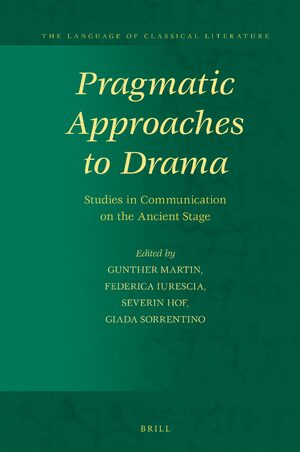 Cover Pragmatic Approaches to Drama