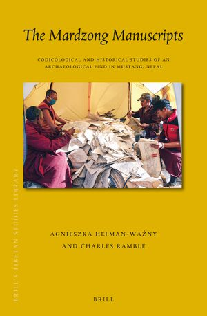 Cover The Mardzong Manuscripts