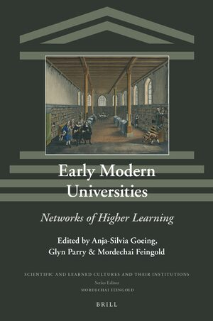Cover Early Modern Universities