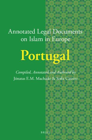 Cover Annotated Legal Documents on Islam in Europe: Portugal