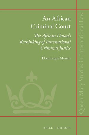Cover An African Criminal Court
