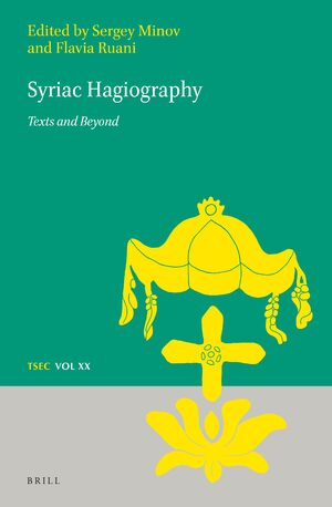 Cover Syriac Hagiography