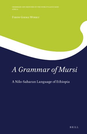 Cover A Grammar of Mursi