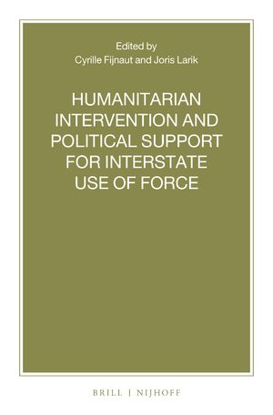 Cover Humanitarian Intervention and Political Support for Interstate Use of Force