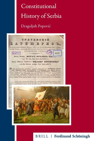 Cover Constitutional History of Serbia