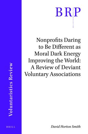 Cover Nonprofits Daring to Be Different as Moral Dark Energy Improving the World